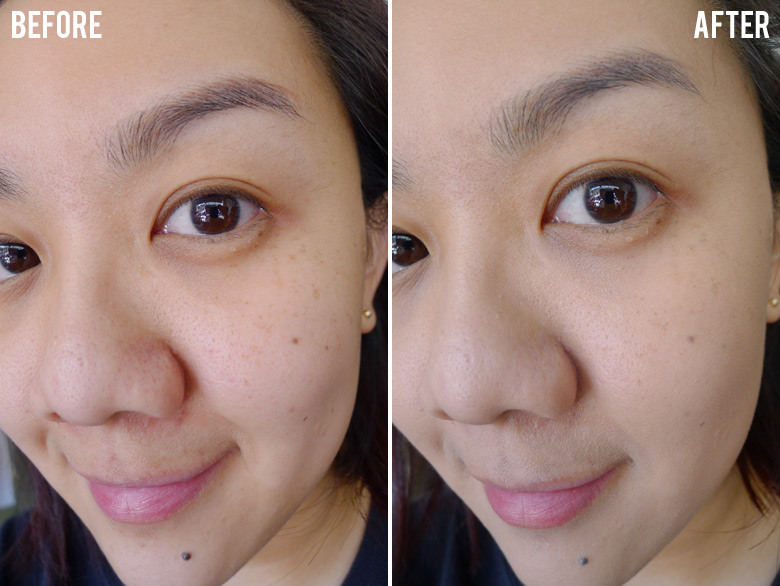 Estee Lauder Advanced Night Repair Before After