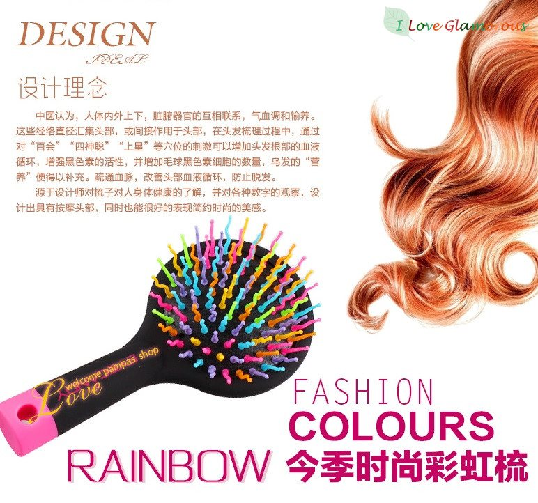Korean Eye Candy Brush Sisir U Membuat Rambutmu
