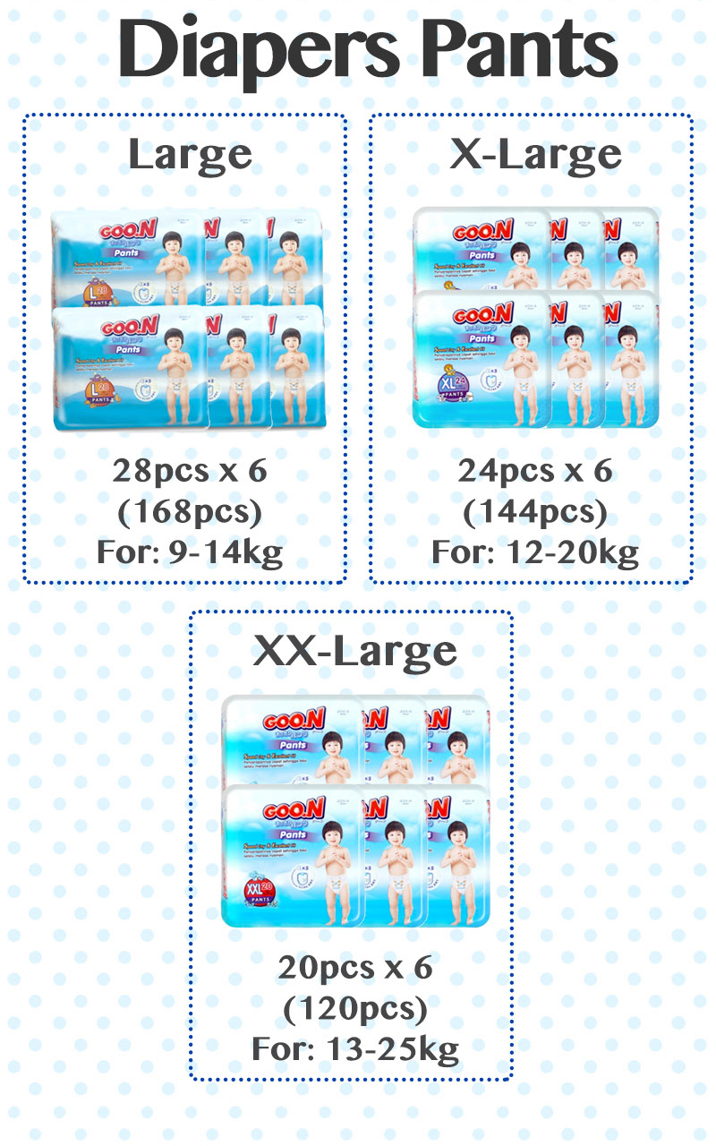 Goo N Nb 48 Jual The Gallery For Gt Goon Diapers Nappy New Excellent Dry Buy Bundle Sale Baby S M L Xl
