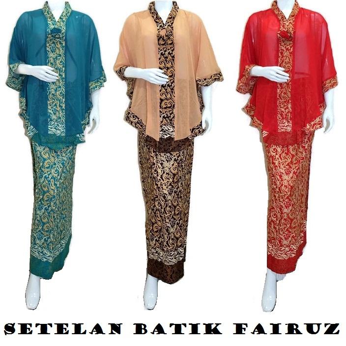 Free Ongkir Koleksi Pakaian Setelan Songket Kimono