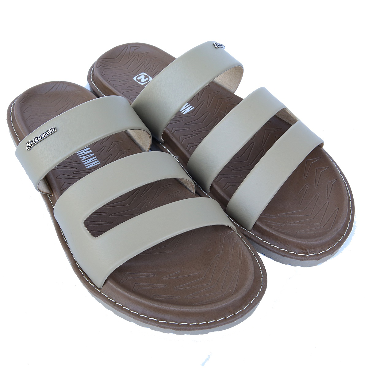 Fresno 774 and 775 are available in 4 colors: - Black - Dark chocolate - Ivory - Light brown. Size of outsole chart (bottom foot sandals): - 38: 26.6 cm