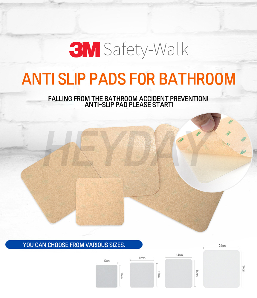 Buy 3M Anti-Slip Pads 10pcs/ Adhesive Bathroom Non-Slip ...