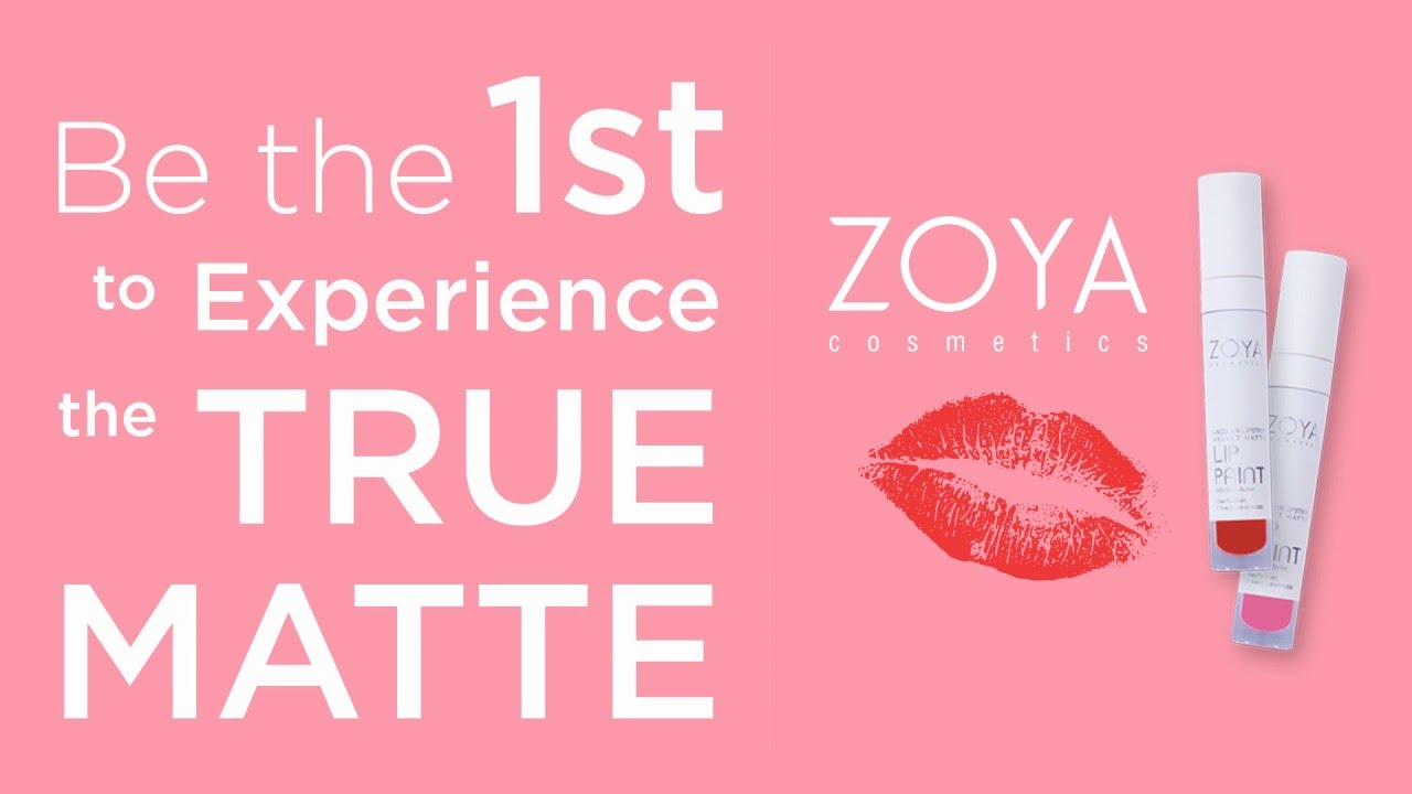 ... MATTE LIPSTICK PURE RED. Zoya Lip Paint