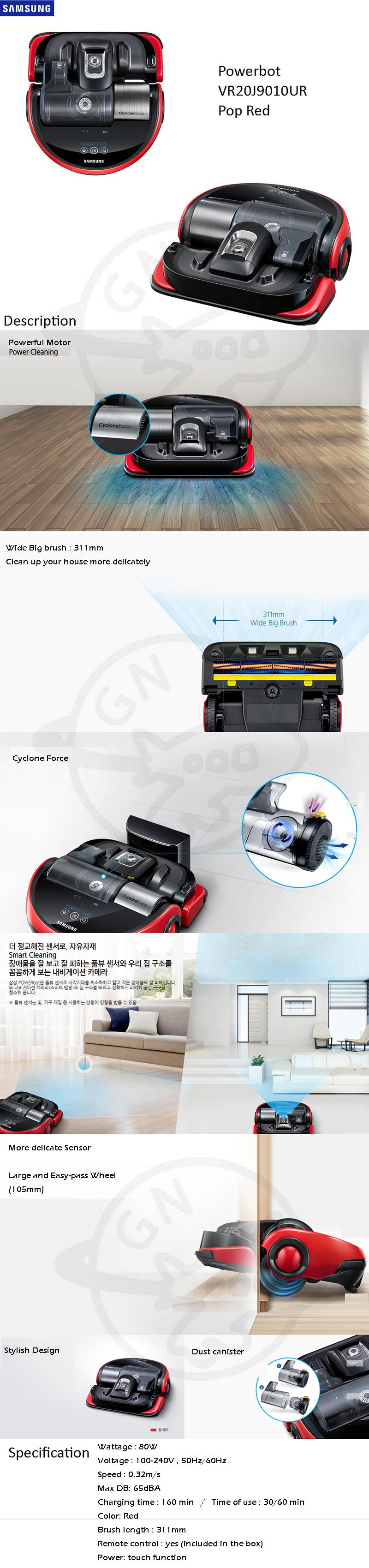 samsung cyclone force vacuum manual