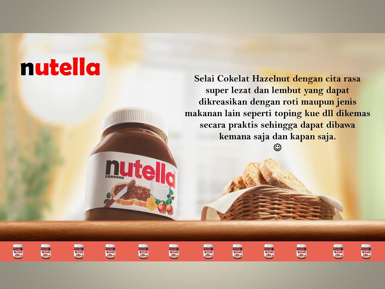 Nutella Selai Coklat Hazelnut Daftar Harga Terlengkap Indonesia Ferrero 350g Highlights