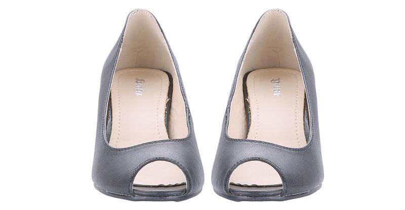 Bata Shoes Uk Flat Black