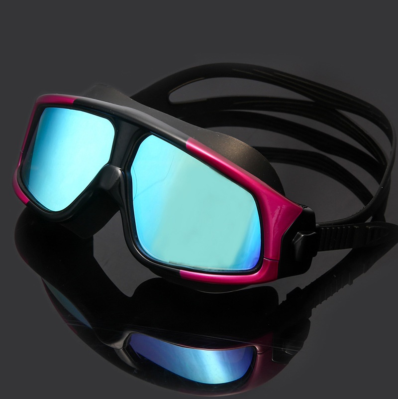 767f505edb9 Buy  Swimming Goggles  Anti fog UV shield Adult kids  Diving goggles ...