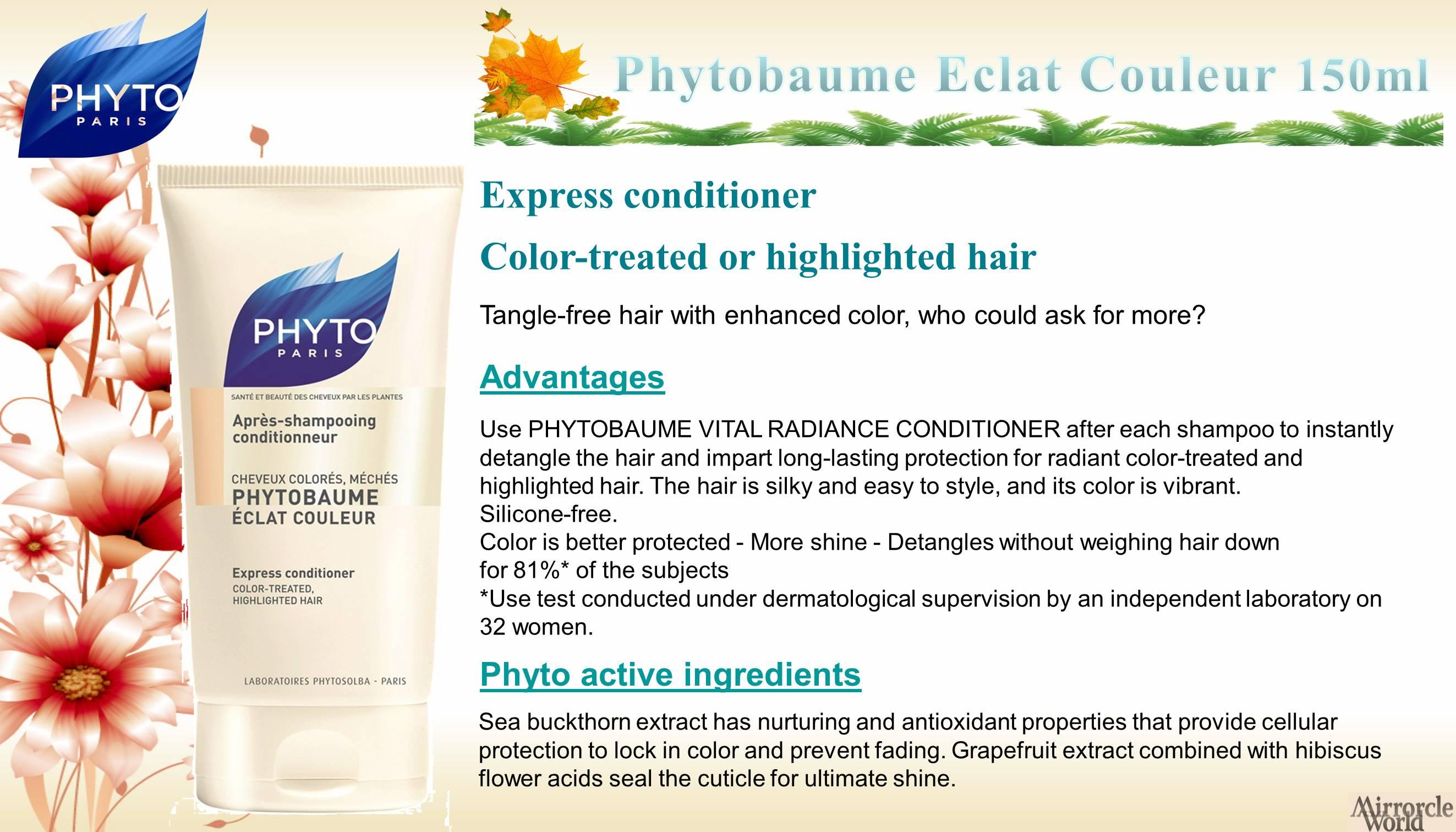 Buy 11 Promo France Phyto Botanical Hair Colour Dye 100 Perfect