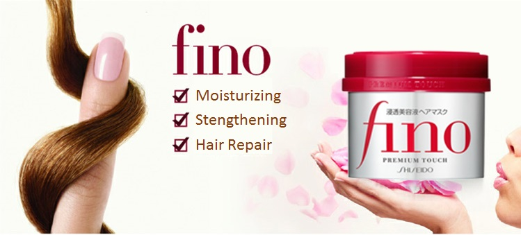 Image result for shiseido fino hair mask