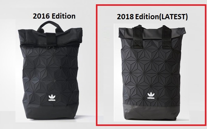 Adidas Issey Miyake 3D Roll Top Mesh Backpack(2018 EDITION)(Comes with  Single Original RECEIPT) You can see below video link for further info 02ccdec4e4a9f
