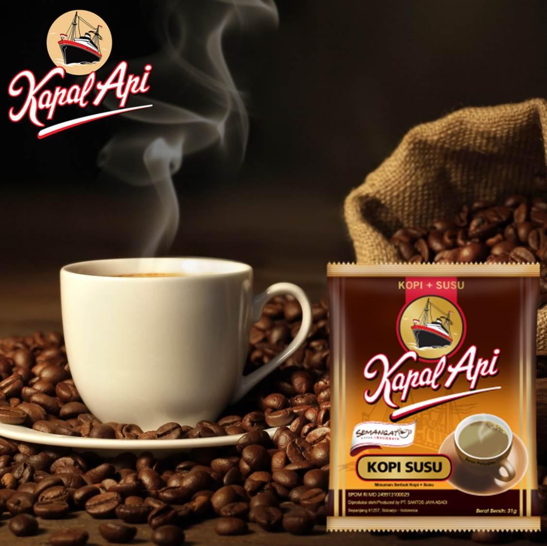 ABC Kopi Susu Instan Coffee 10-ct, 10.9 Oz