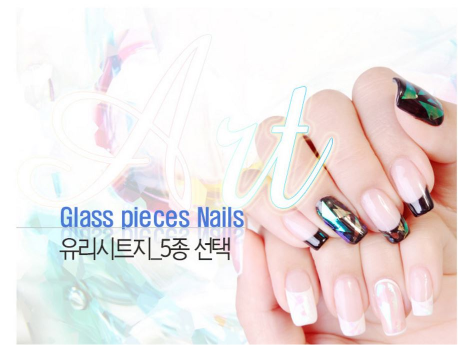Buy 2015 New Korean Nail Art Designs Shattered Nail Art Sticker And