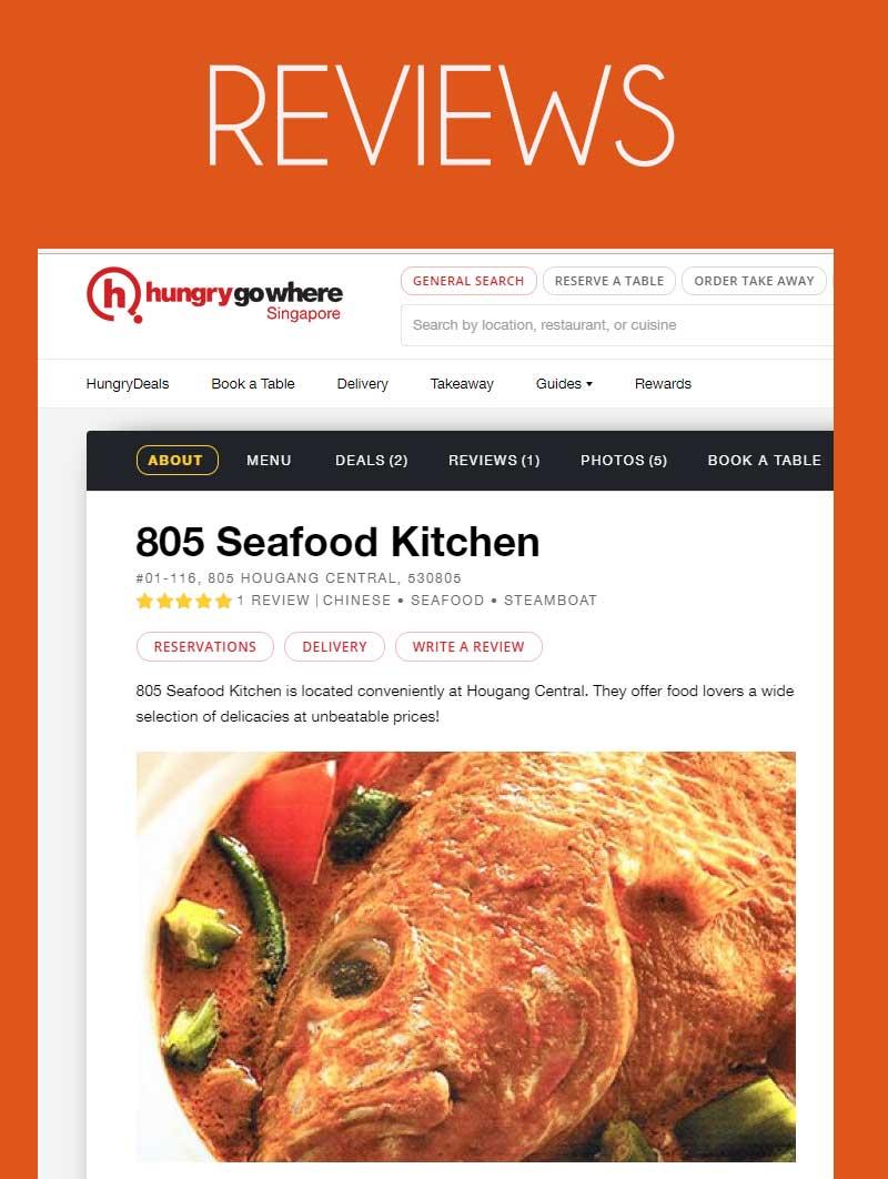 Buy 805 Seafood Kitchen. Introductory Promotion. Cash voucher. Dine ...
