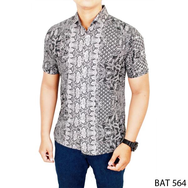 Buy Model Baju Pria Lengan Pendek Katun Multi Colour Bat