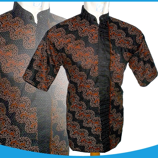 Buy NEW BATIK COLECTION BAJU BATIK PRIAMODEL KERAHKOKOPRINTING