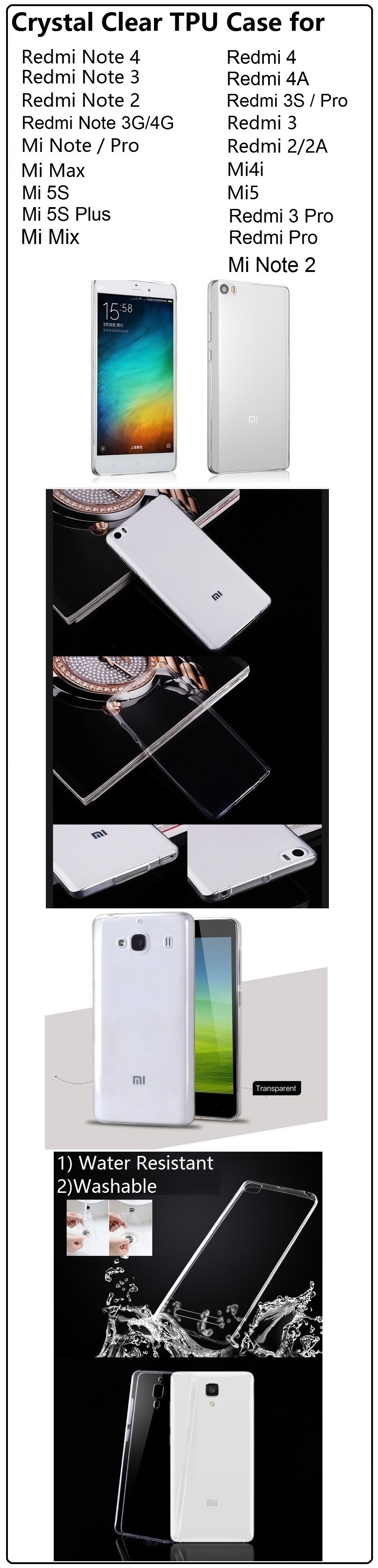 Every Need Want Day Backdoor Casing Belakang Xiaomi Redmi Note 3g 4g Black Led Portable Light