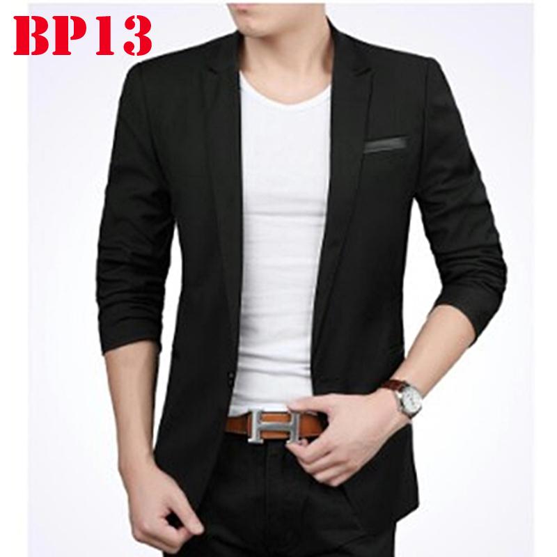 New Mens Blazer Korean Style Fashion Jaket Casual Pria Blazer Pria Kualitas Berkelas Atas Harga