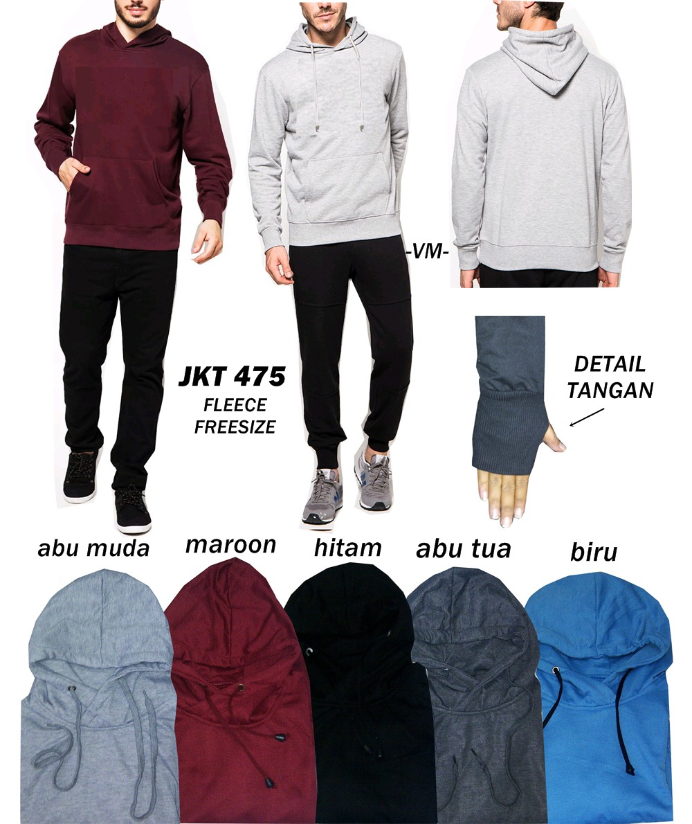 Buy Promo Jaket Fashion Pria Deals For Only Rp69000 Instead Of Sweater Basic Oblong Polos Hitam Highlights
