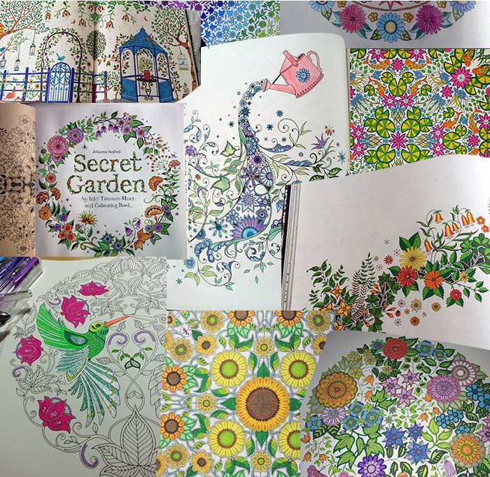 Buy LOVEFAMILYSECRET GARDEN COLOURING BOOK Deals For Only RM29