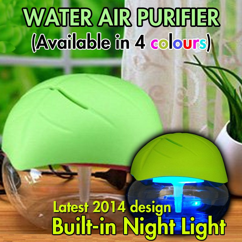 LED Water Air Purifier Humidifier