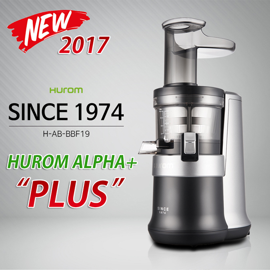 Hurom Slow Juicer And Smoothie Maker : -2017 NEW!- HUROM Premium Slow Juicer ALPHA PLUS H-AB-BBF19 Smoothie Maker BPA-FREE! 11street ...