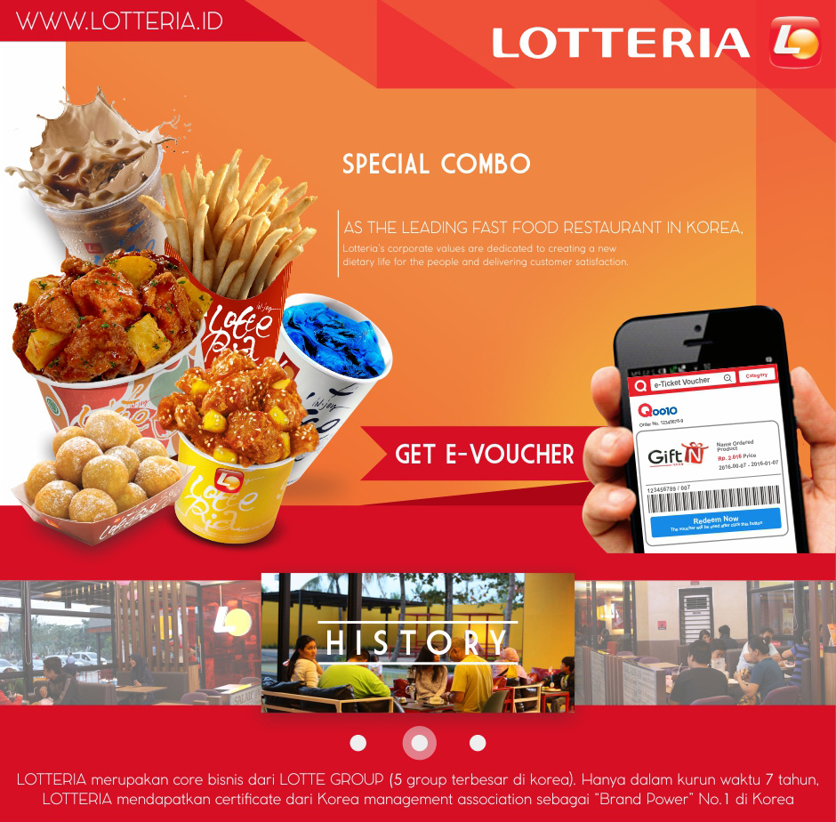 Lotteria Combo Chicken Single Gangjong Set A Buy Special Deals For Only Instead 940x924