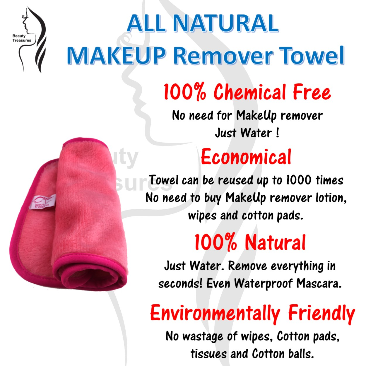 Where To Buy Travel Towel In Singapore: Buy Premium MakeUp Remover Towel Remove Your Makeup 100
