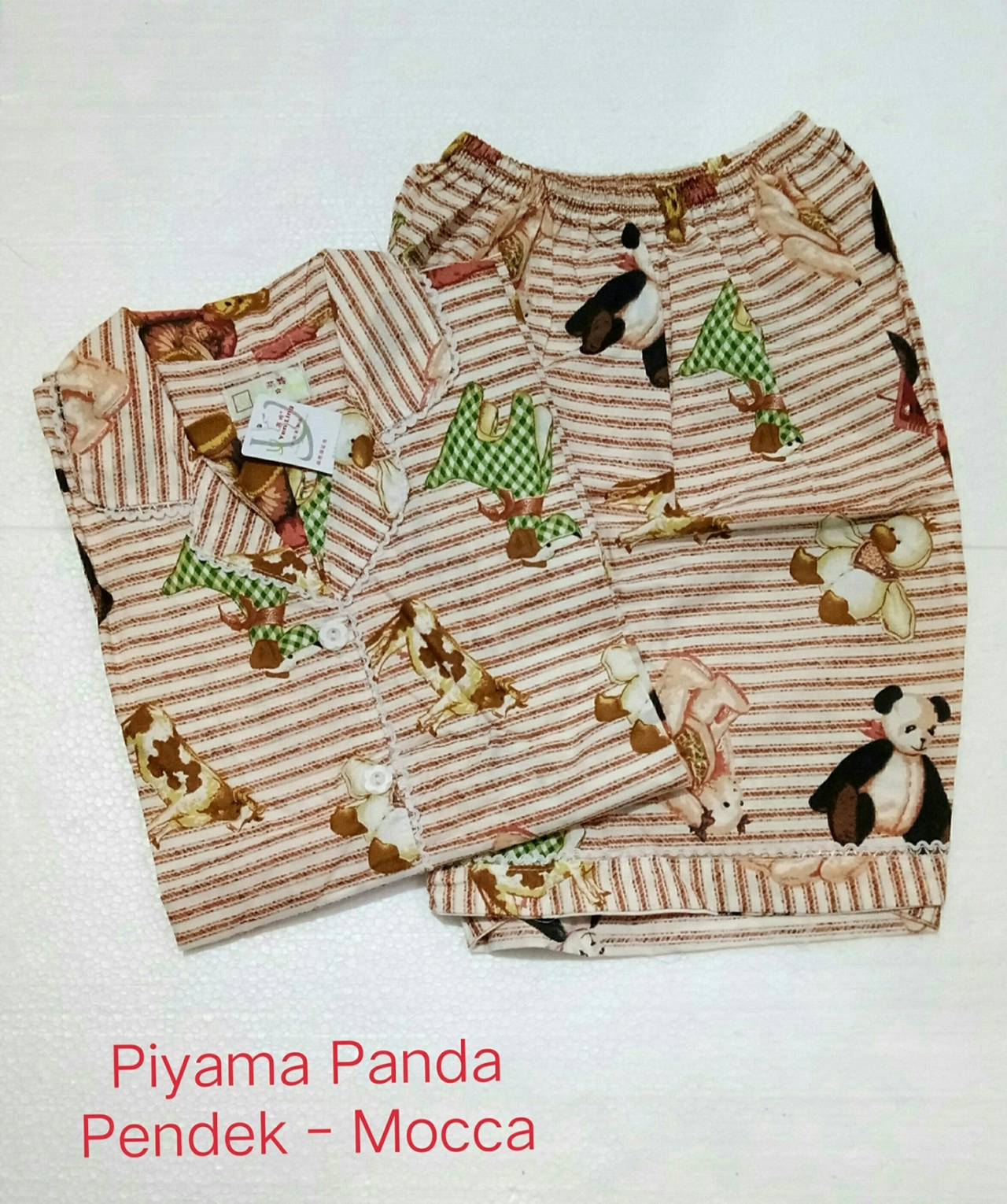 ... Fortune Fashion Piyama Domba Panjang Tosca Daftar Update Harga Source Fortune Fashion Piyama Pendek Panda Bahan