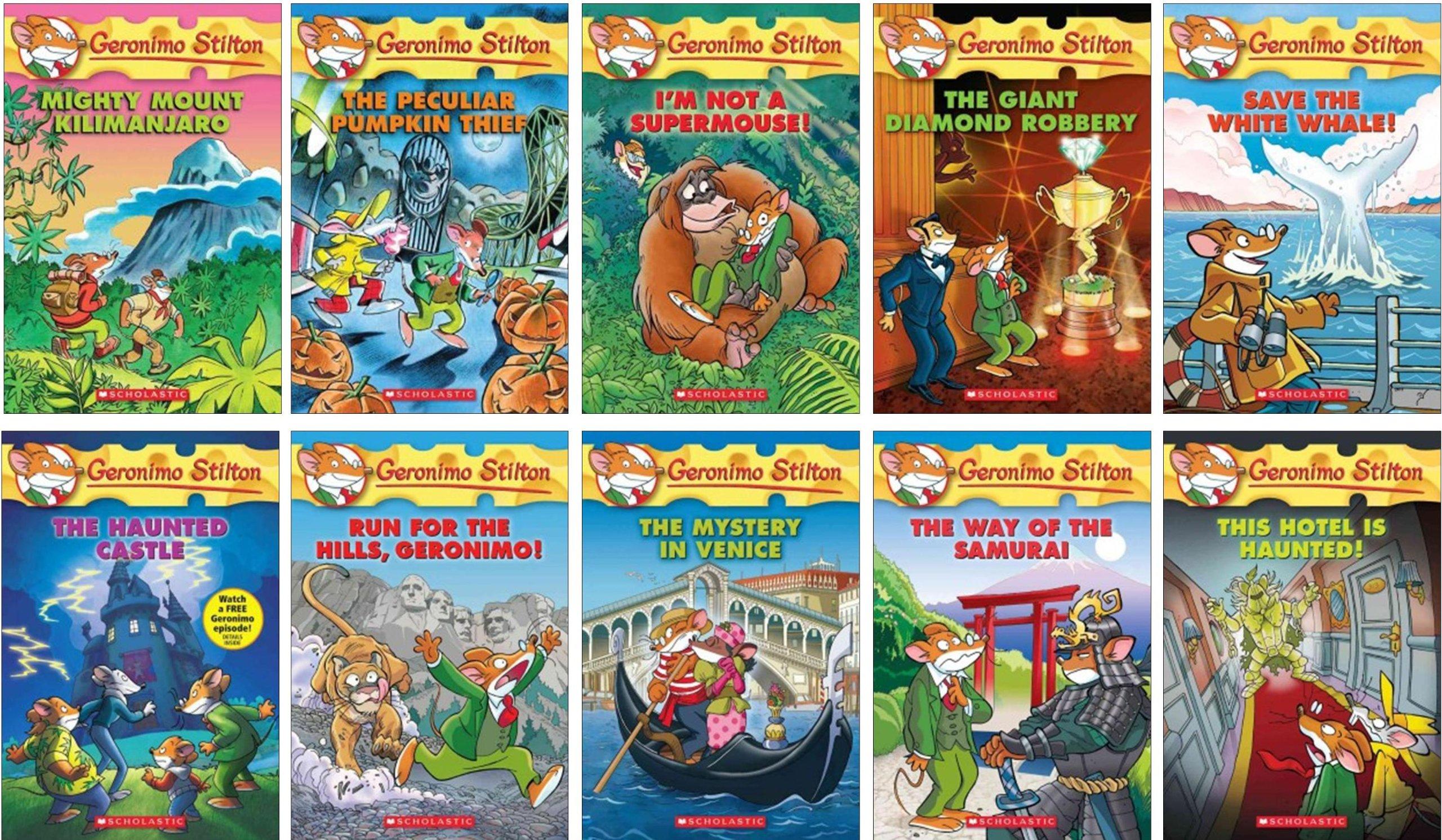 Geronimo Stilton Series (41-60) Discounted!Discounted!