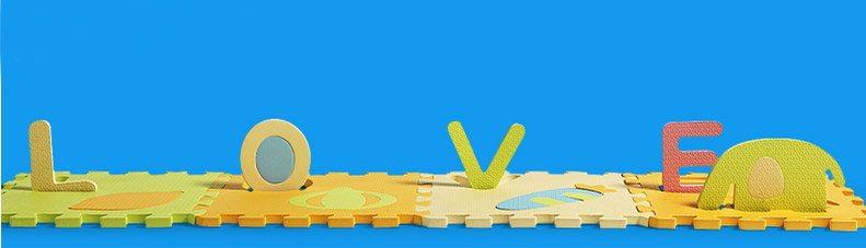Buy Kids Floor 3d Puzzle Mat Playmat Alphabet Number