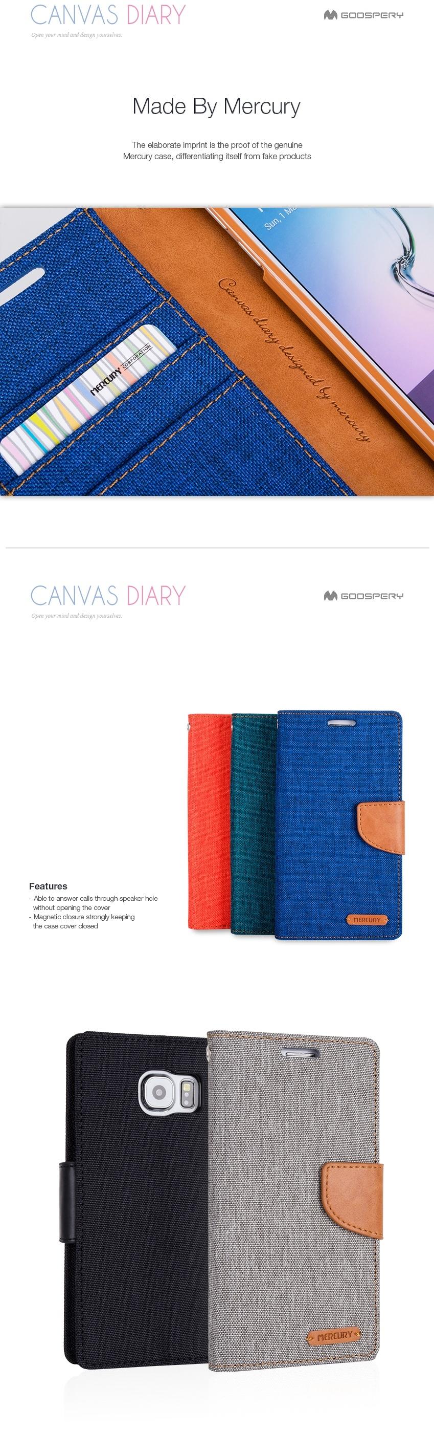 Buy Originalmercury Goospery Canvas Diary Case Samsung Galaxy V Grand Prime Green Highlights