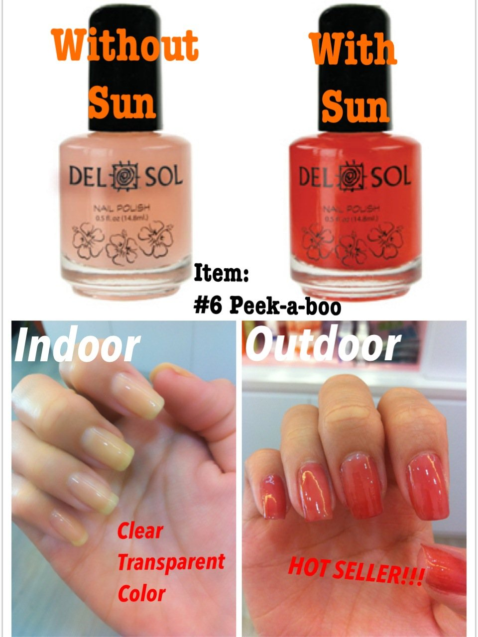 OFFER: Delsol Color Changing Nail Polish - Award Winning Beauty ...