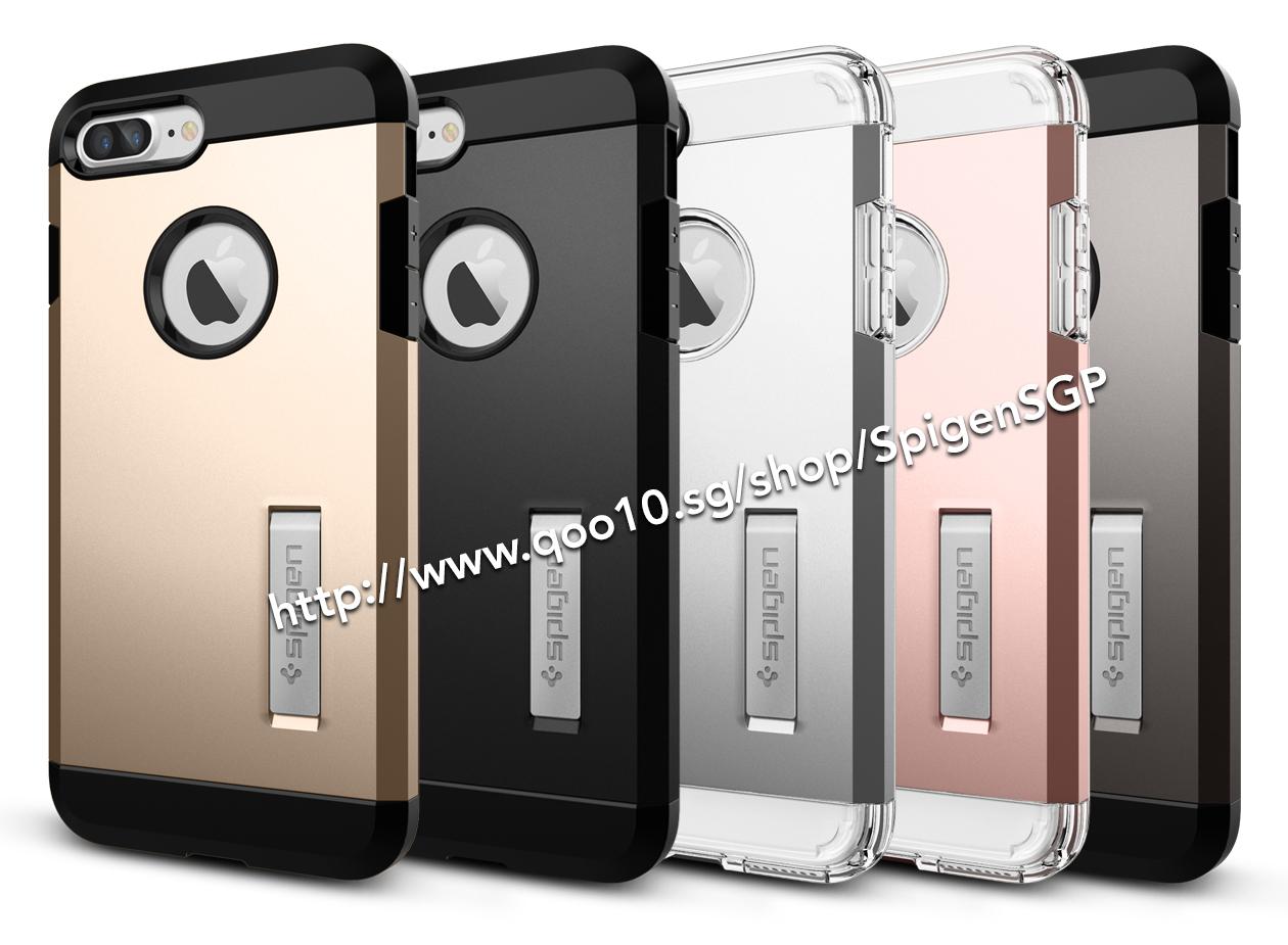 suite 4302, emory spigen slim armor iphone 7 plus tough case jet black