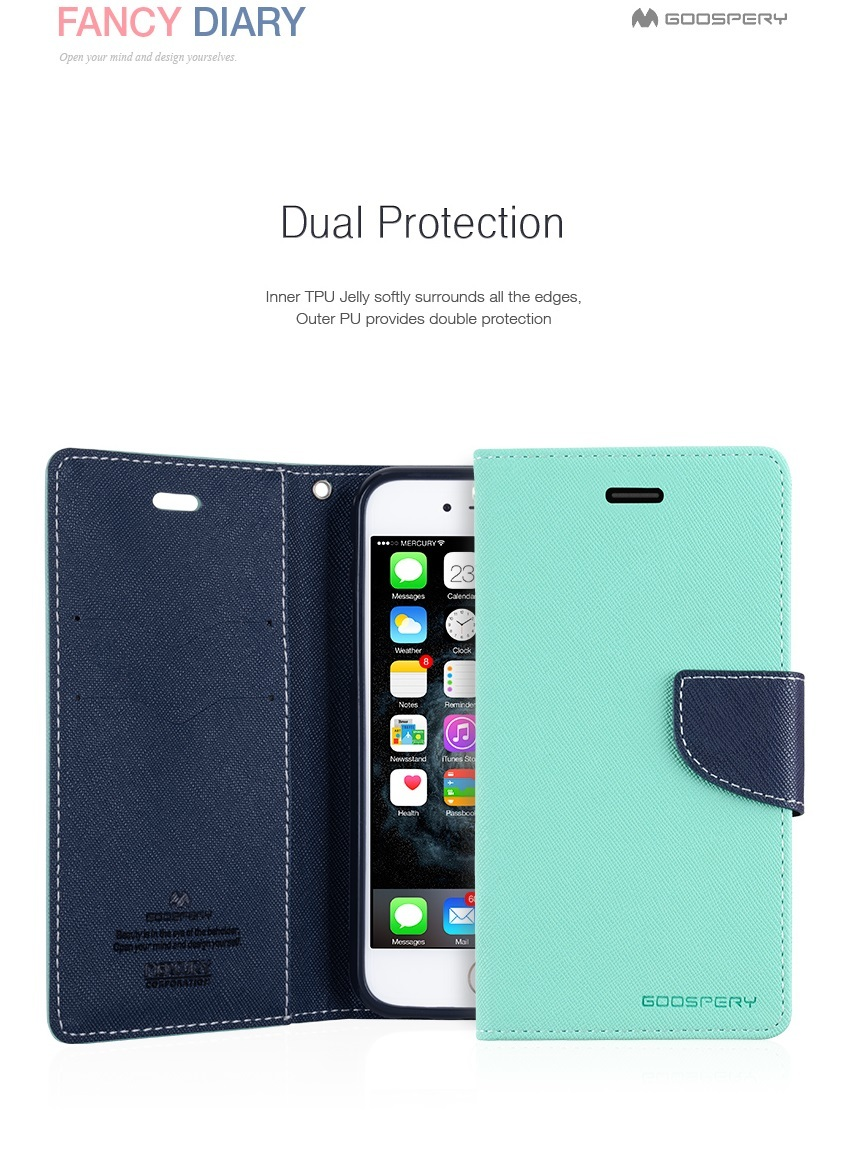 Buy Iphone 7 Case Plus Goospery Mercury Original 8 Fancy Diary Yellow Hotpink Do Take Note That All Has A Logo Hole At The Back