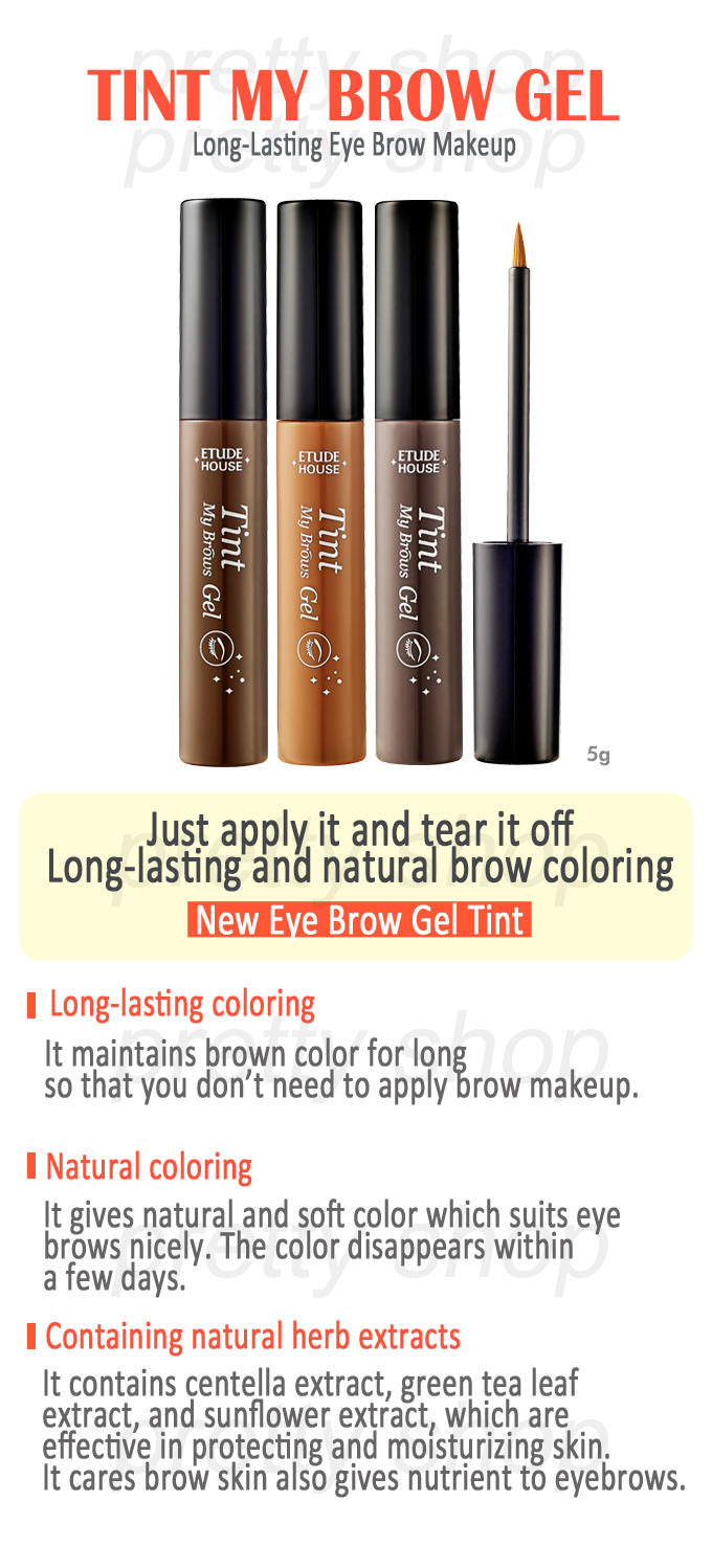 Every Need Want Day Etude House Styling Eyeliner 6 Tint My Brow