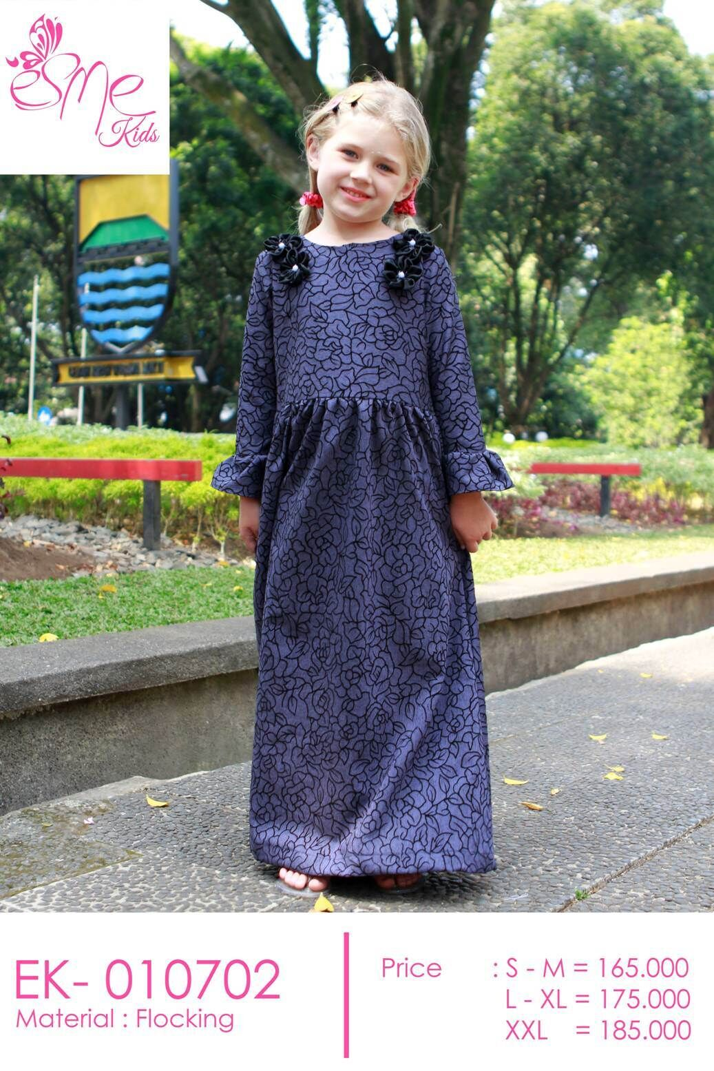 Best Of Kids Esme Collection New Arrival Baju Gamis Rok