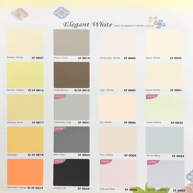 Skk Paint Color Chart Paint Color Ideas
