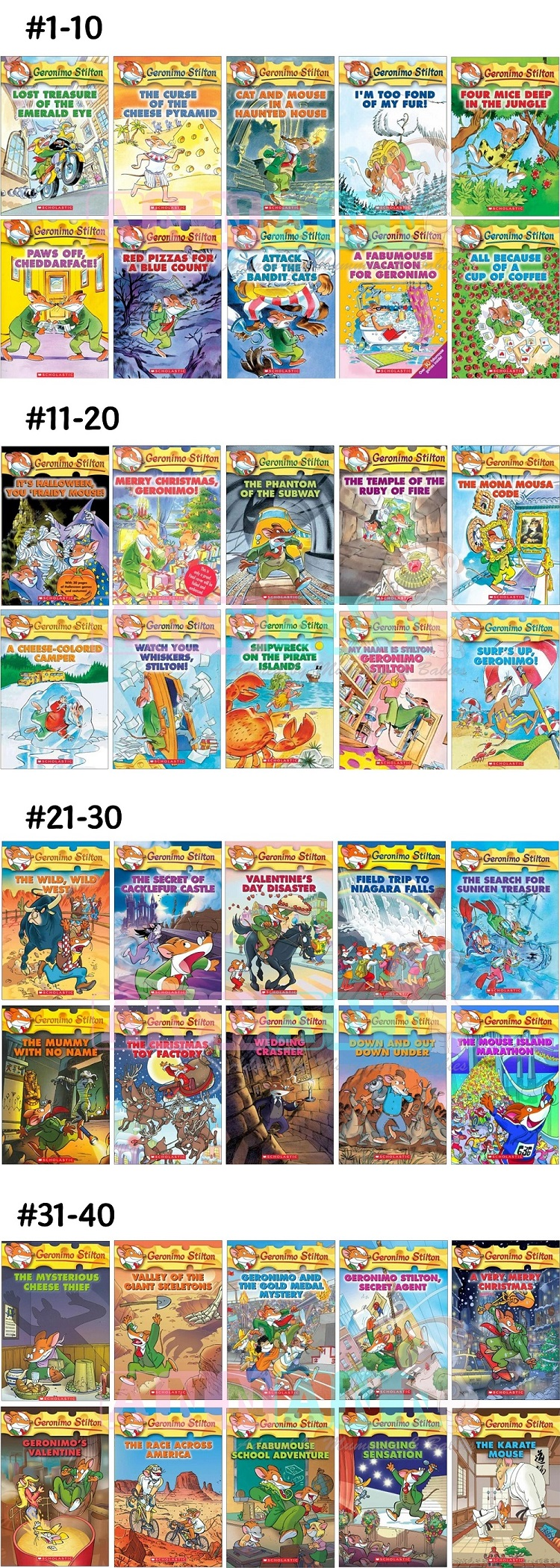 Ideal As Gifts For 6 12 Years Old Children Only Book Great Deal Geronimo Stilton