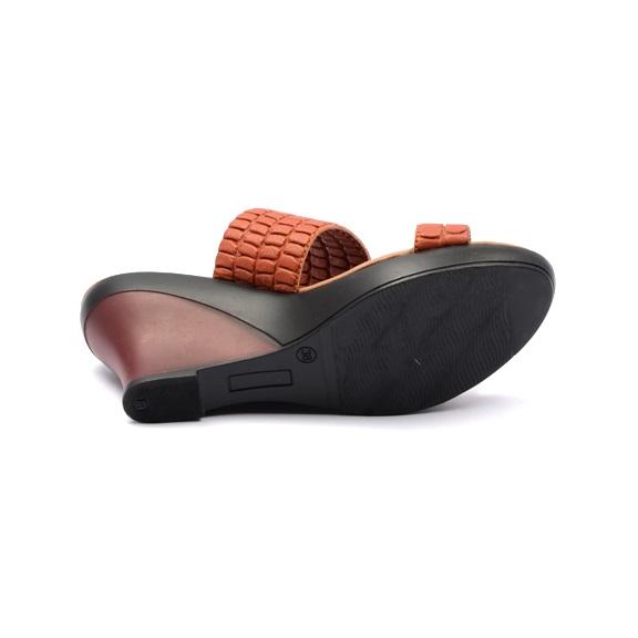 Harga Dr Kevin 27341 Women Wedges Sandals Merah Bata PriceNia com Source · Tinggi Hak 7
