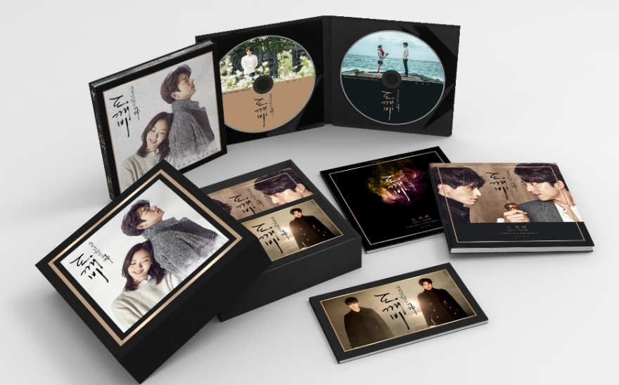 The Lonely and Great God OST Pack 1 Goblin Dokebi Guardian Poster tvN Drama