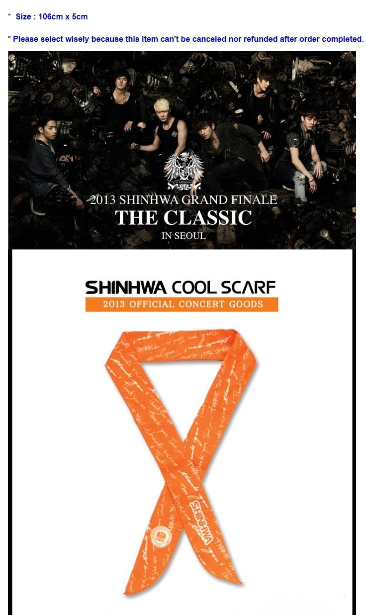 [SHINHWA] Official Goods (Cool Scarf)