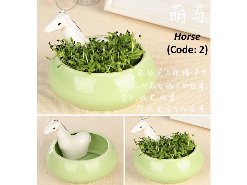 Buy mini garden xiao hua nong magic garden ecoey canned for Indoor gardening machine