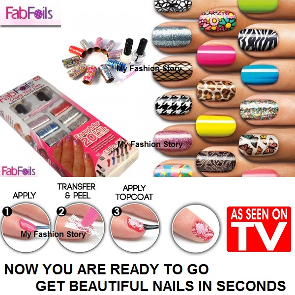 Buy Fab Foils*As Seen On TV*Create your own Professional Salon style ...