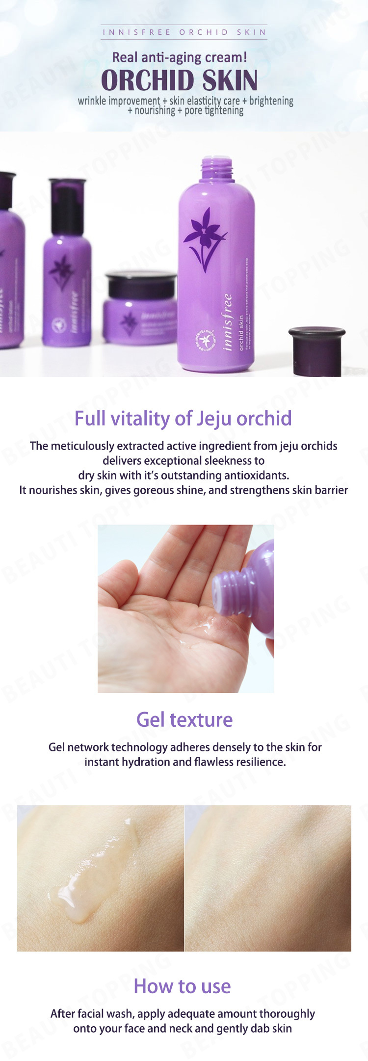 Only 1 Day Innisfree Orchid Lineskin Lotion Essence Intense Skin Dayinnisfreeorchid Cream Beauti Topping