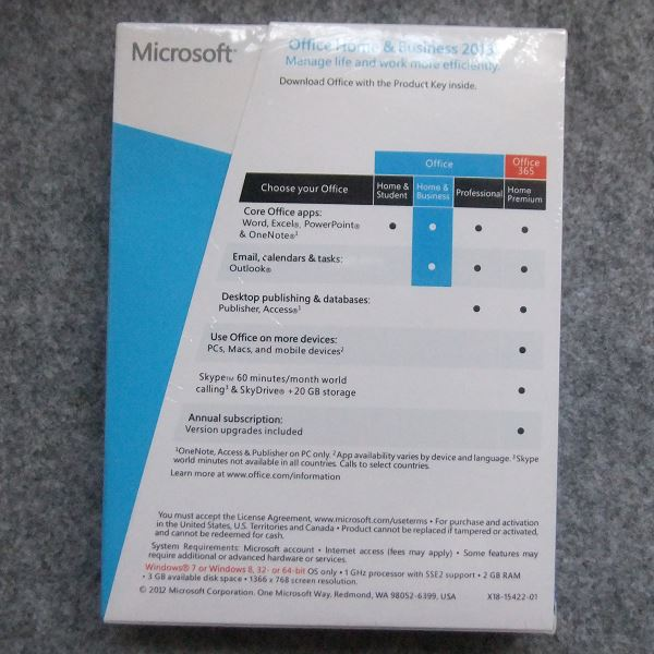 Buy genuine microsoft office 2016 home and business 2013 - Windows office home and business 2013 ...