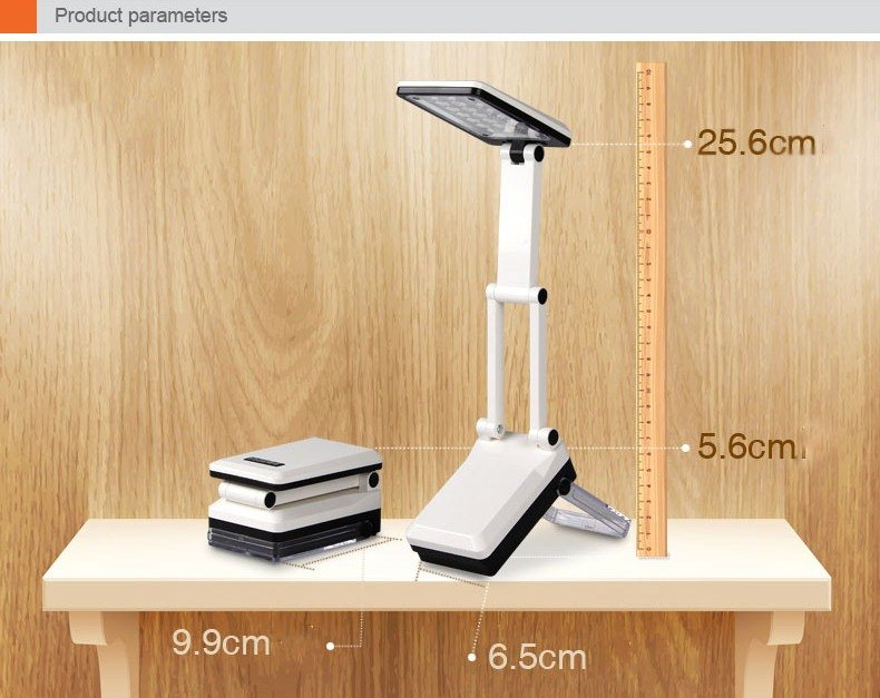 led table lamp white type a lazada singapore. Black Bedroom Furniture Sets. Home Design Ideas