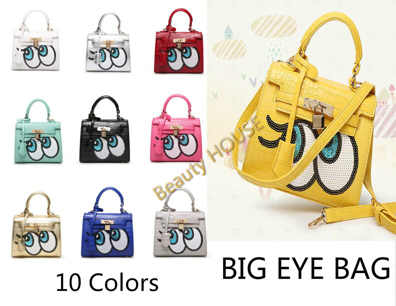 Buy Big Eyes Pu Leather 2 Way Bag Gbb Gba Hollywood Star N