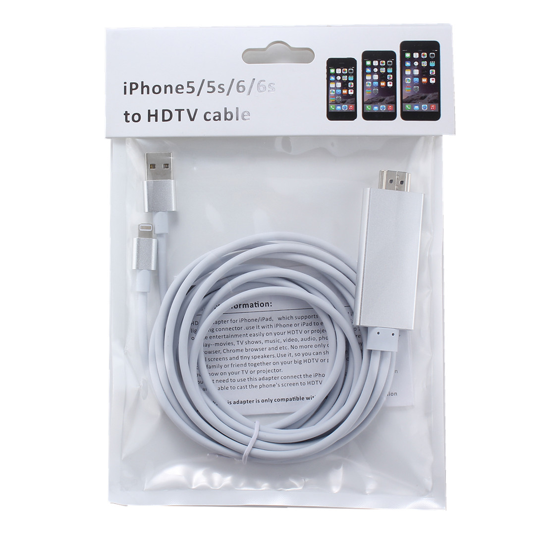 How to connect iphone 6s to tv with hdmi