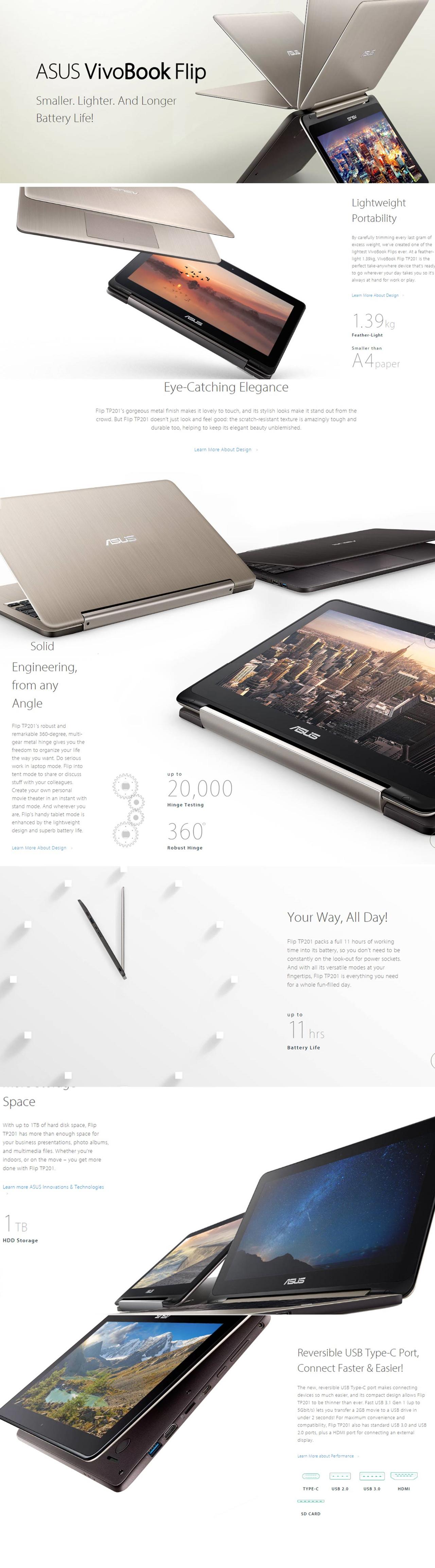 Asus Vivobook Flip 360 Tp201sa No Os Gold Daftar Harga Terbaru Fv0027d Laptop 116 Inch Hd Touch Qc N3710 500gb Dos Image