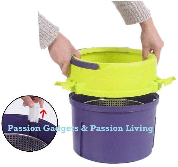 Single Bucket Spinning Mop